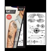 Adult Temporary Tattoo - Mono Chic #69576