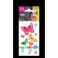 Buy cheap Mini Adult Color Temporary Tattoo - Butterfly Beauty #69534 from wholesalers