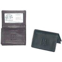 China BC010 - Leather Wallet Business Card Holder - REALTOR Logo on sale