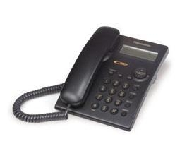 Quality Panasonic KX-TSC11B Corded Phone with Caller ID - BLACK (Open Box) for sale