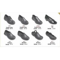 9801 non-slip shoes Chef shoes kitchen work shoes Calf Rubber PU work shoes safety Manufactures
