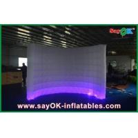 Automatic Led Inflatable Photo Booth , Party Decorative Photobooth Kiosk Manufactures