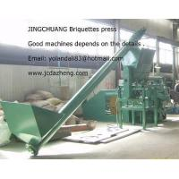 China Biomass briquette making machine on sale