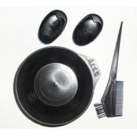 China wholesale professional hair tinting brush with plastic hair dyeing comb on sale