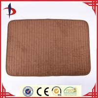 China Microfiber coral fleece shaggy rug wholesale