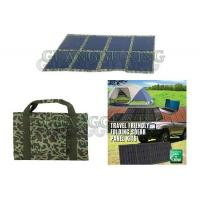 China 80 Watt Folding Kits Solar Powered 12V Battery Charger for 4x4 and Camping on sale