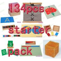 Montessori material Mathematics -134pcs starter pack Manufactures