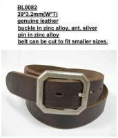 Buy cheap Genuine Leather Belts Leather Belt from wholesalers