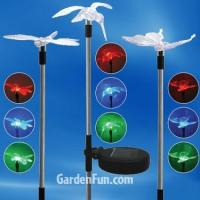 China Clearance Flying Friends Solar Garden Stakes (Set of 3) on sale