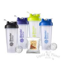 Sundesa 28 oz. Classic BlenderBottle Set of 4 with 3 oz. Liquid Planet Smoothie Mix Manufactures