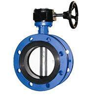China Butterfly Valve Concentric Flange Butterfly Valve on sale