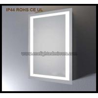 China Lighted vanity wall mirror on sale