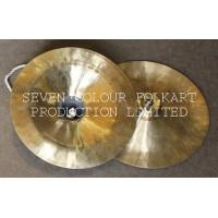 China Chinese lion dance instrument copper cymbals on sale