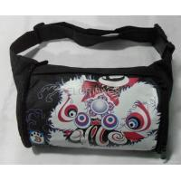 China Waist pack with Chinese lion dance pattern on sale