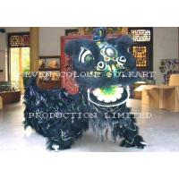China Chinese traditional lion head and costume for lion dance on sale