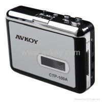 Audio USB Portable Cassette-to-MP3 Converter Capture Tape Player with Headphones Manufactures