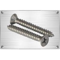 Screws TitaniuM countersunk head philips head self-tapping screw Manufactures