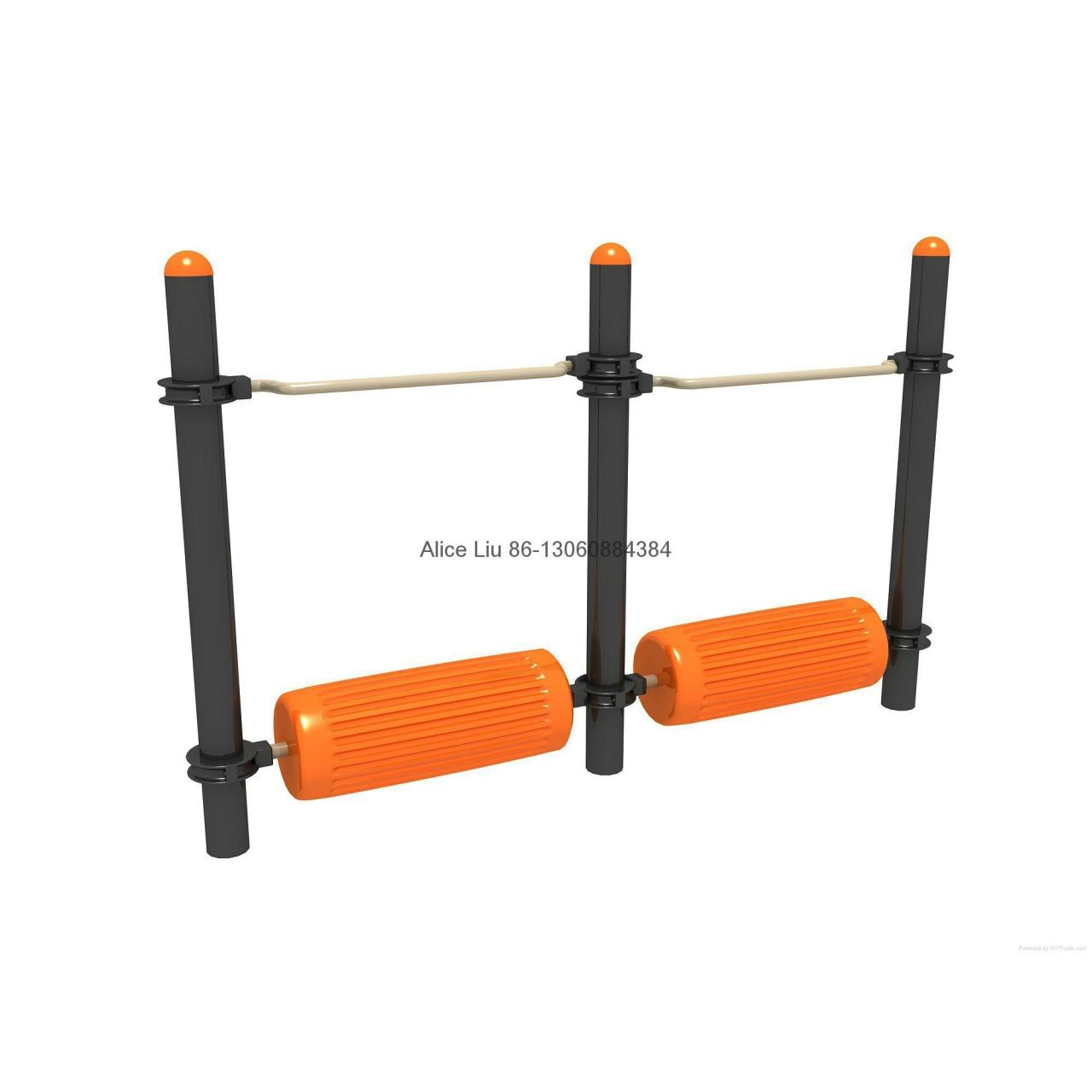 Double water wheel oem fitness body building equipment