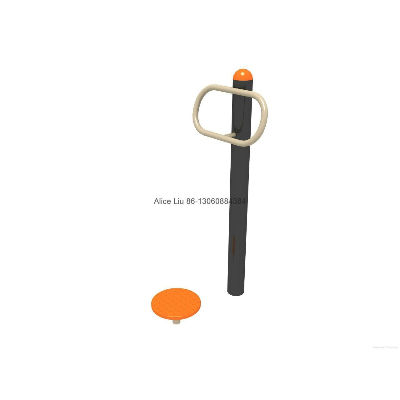 Single Waister playground outdoor fitness equipment Manufactures