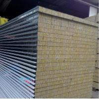Buy cheap Rock wool sandwich panel from wholesalers