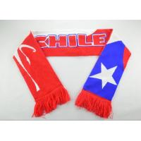 Custom Knitted Fan Scarf-ADCH1017 Manufactures