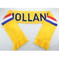 Buy cheap Custom Knitted Fan Scarf-ADCH1016 from wholesalers