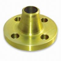Weld Neck Flange Golden Alloy Steel Welding Neck Flange, PN 100 Manufactures