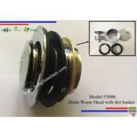 Shower Accessories 55006 Metal shower drain waste with basket Manufactures
