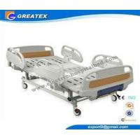 Two Crank Medical Manual Hospital Bed Foldable ABS Handrails 2 Functions Manufactures