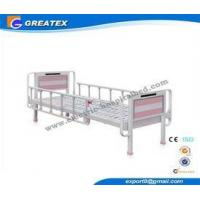 Heavy Load Nursing Medicare hospital beds with rails , Bedside cabinet and Mattress Manufactures