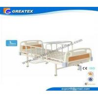 High Class Double Handle Manual Hospital Bed with Single Crank for the elderly Manufactures