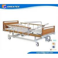 Four Fold Bed Board double Function patient hospital bed , manual adjustable beds Manufactures