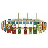 Buy cheap Wooden toy block 100pcs from wholesalers