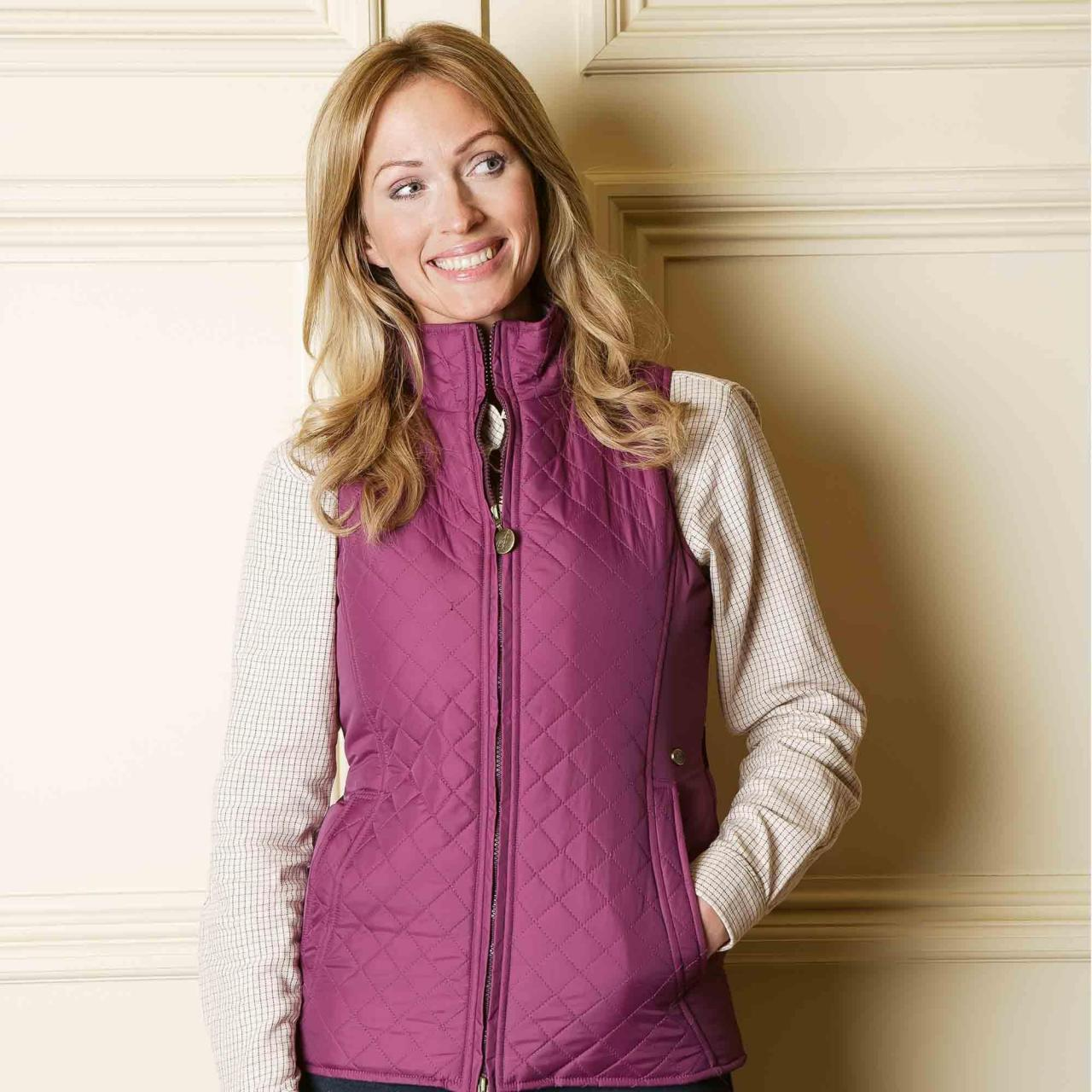 China Quilted Sport Gilet QG-160120 wholesale
