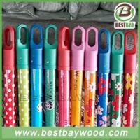 Buy cheap PVC Coated Wood Broom Sticks PVC Coated Wood Mop Handle from wholesalers