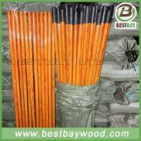 Buy cheap PVC Coated Wood Broom Sticks PVC Cover Wooden Mop Stick from wholesalers
