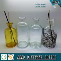 China 250ML/200ML/120ML glass reed diffuser bottle wholesale