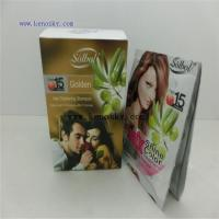 Buy cheap Hair Coloring Product name:Golden color shine hair dye shampoo from wholesalers