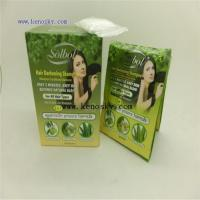 Buy cheap Hair Coloring Product name:Noni,olive,aloe vera extracts hair color shampoo from wholesalers