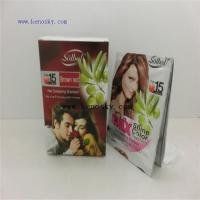 Buy cheap Hair Coloring Product name:brown red color shine hair dye shampoo from wholesalers