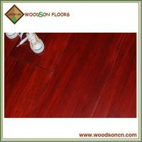 Red Stain Solid Bamboo Flooring Manufactures