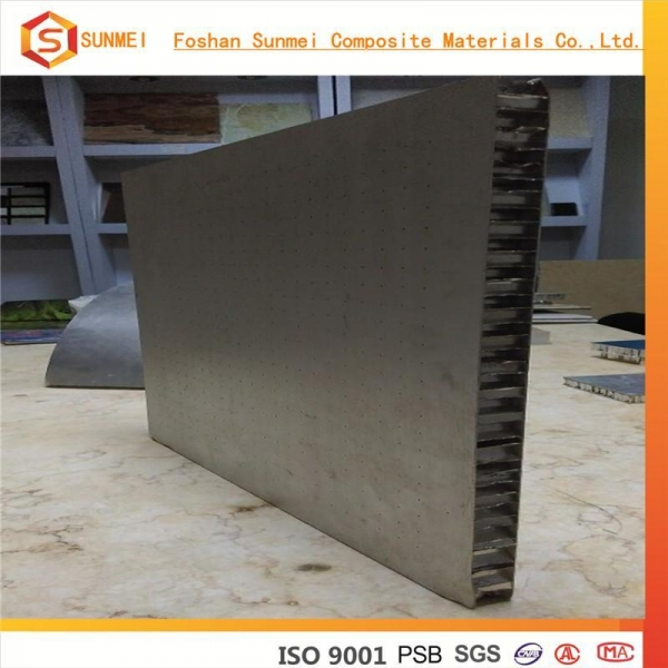 Quality Perforated Honeycomb Panel with Stainless Steel Skin for sale