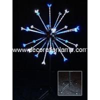 China Outdoor LED Firework Light Decorations Christmas Light Decoration on sale
