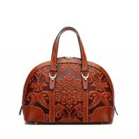 China Big brand design Chinese style genuine leather handbags womens tote bags for sale on sale