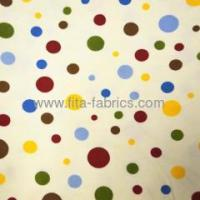 China 100% cotton,Dot printed discount flannel or Flano on sale