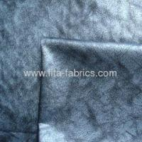 polyester micro peach skin printed fabric-woven fabric Manufactures