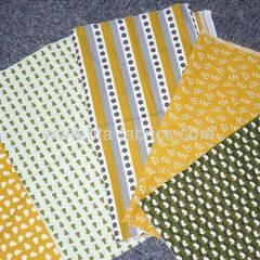 China Woven printed 100% cotton fabric poplin