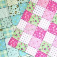 100% cotton collage style flannel fabric for babys Manufactures