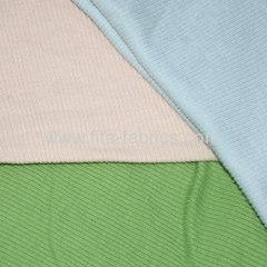China 100%cotton dyed knitting 2x2 or 1*1 Rib fabric