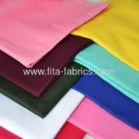 natural color ployester/cotton blended or 100% cotton drill fabric Manufactures
